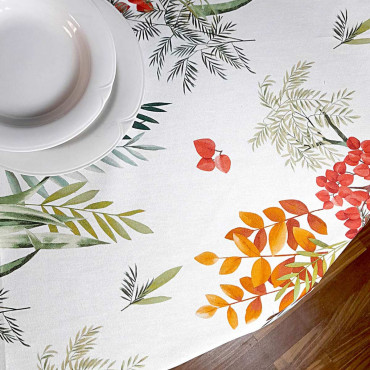 Panama Ramage Frasche tablecloth