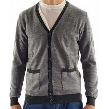 Men's Button Sweater...