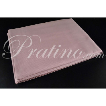 7091 Double Sheets, King size Pink-Brown Embossed Squares 270x290 the sub-floor - Bedroom