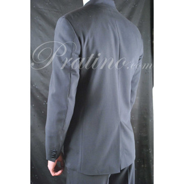 Abito Uomo 48 Cacharel Tintaunita Blu Elegante Coreana 5Bottoni (Sfilata) 30193 - Cacharel Abiti Uomo, Giacche e Giubbotti
