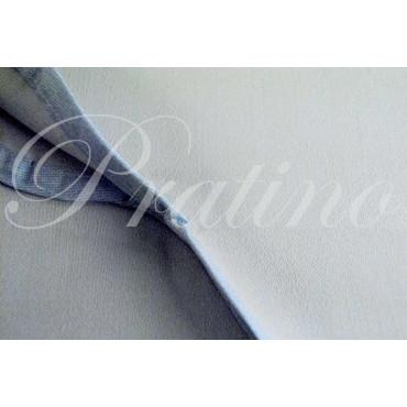 Copriletto Matrimoniale tintaunita celeste raso di cotone