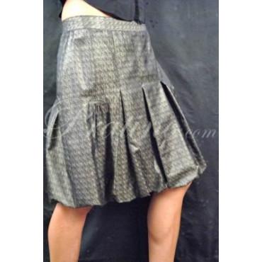 LES COPAINS GONNA PALLONCINO ELEGANTE NERO/ORO L 46 -  Abbigliamento Donna