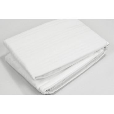 Copri Materasso con Elastici Puro Cotone in Tessuto fasciato - Matrimoniale, Singolo, Una Piazza e Mezza