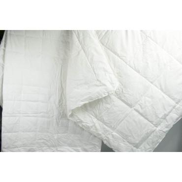 2 Piumini da sacco 4 Stagioni Interno Bianco Microfibra Anallergico Antiacaro - Matrimoniale Singolo Piazza e Mezza