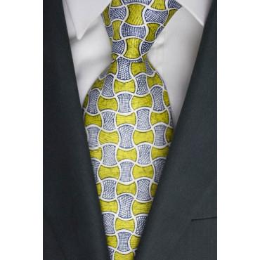 Krawatte Oliver, Valentino, Fantasie, Grüne Pistazien - 100% Reine Seide