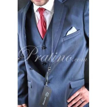 30186 GILLES Abito Uomo 56 Cerimonia Elegante Blu Spalmato Lucente -  Abiti Uomo, Giacche e Giubbotti