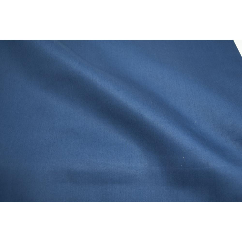 Copripiumino 220x250.Copripiumino Una Piazza E Mezza Blu Notte Raso Cotone 220x250