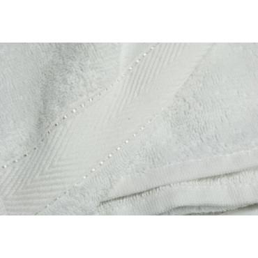 Asciugamano Telo Doccia Bianco Spugna 400grMq 100x150