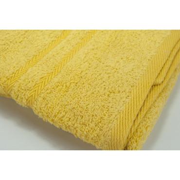 Zucchi Asciugamani Viso + Bidet Giallo Tintaunita - Spugna Cotone
