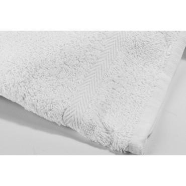Asciugamani Viso + Bidet Bianco Tintaunita - Spugna Cotone - art Cristina