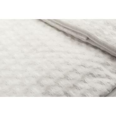 Asciugamani Nido d'Ape Viso + Bidet Bianco Tintaunita - Cella larga