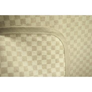 Tovaglia Rettangolare x6 Beige Naturale Quadretti Toscana 140x180 850101