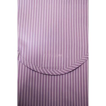 Pigiama Donna Classico S 42 Glicine Righine Bianco - Tessuto Popeline