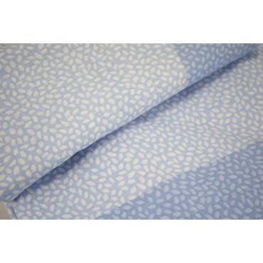 Lenzuola Una Piazza e Mezza Azzurro Fantasia Chicchi Sotto Angoli 120x200