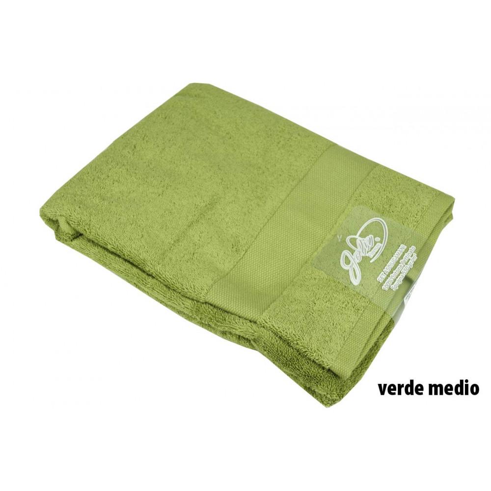 Set Asciugamani Viso Bidet Lusso in Spugna Pesante 500 gr Mq