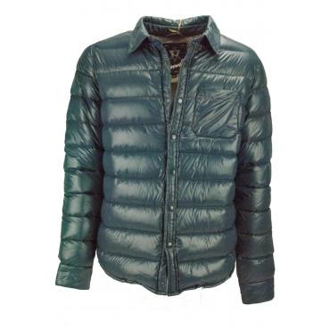 Jacket Down Jacket Ultra-Light Man 50 L Green Oil - Impervela