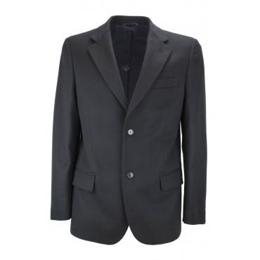 Giacca Uomo 46 Blu Scuro Panno Cashmere Lana Classica 3Bottoni - Incom Montecatini Abiti Uomo, Giacche e Giubbotti