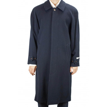 Navigare Cappotto Uomo XL Blu Scuro Misto Cachemire Ampio Manica Raglan -  Abiti Uomo, Giacche e Giubbotti