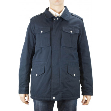 Giacca Parka Uomo 48 M Blu Scuro - Johnny Lambs