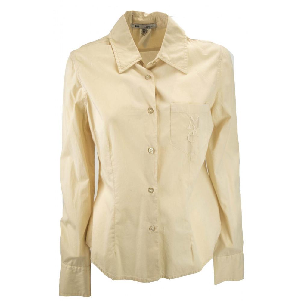 LES COPAINS Camicia Avvitata Donna Taschino 44 M Beige -  Abiti, Camicie, TShirt