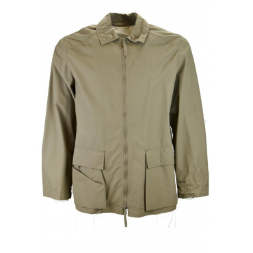 Giacca Impermeabile Uomo M 48-50 Beige Medio - Victory