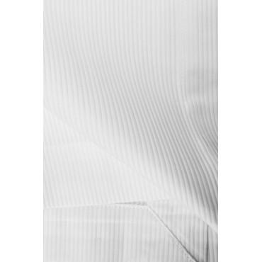 Copriletto Copritutto Bianco Piquet Leggero a Righe