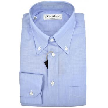 Camicia Uomo Celeste Filafil Button Down