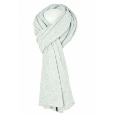 Grande Sciarpa 100% Puro Cachemire maglia MORBIDISSIMA - 210x75 - Giallo, Bordeaux, Verde, Rosa, Sabbia, Grigio