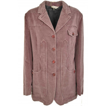 Giacca Donna Maremmana Capalbio - Lana Puntinata Beige - Casual Country Chic