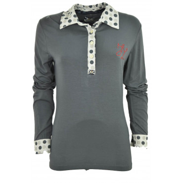 T-Shirt Woman Polo Grey...