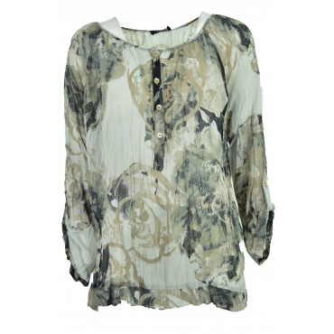 Shirt Tunic Women's L Voile...