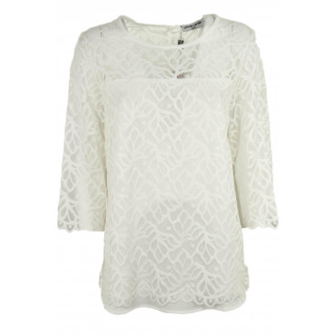 Blouse Tunic Women's Ivory...