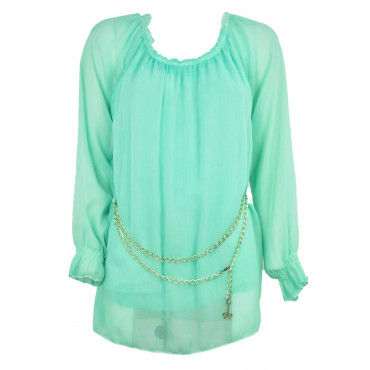 Blouse Tunic Women's...
