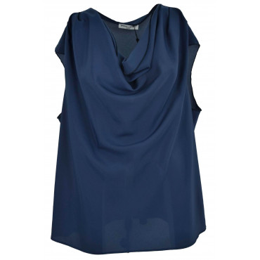 Blouse Woman Big Size Blue...