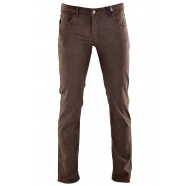Pantaloni Uomo Slim modello Casual 5 Tasche - Cotone Autunno Inverno
