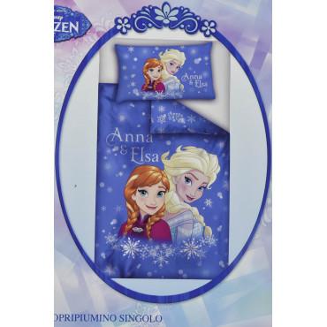 Copripiumino singolo Frozen Sorelle Elsa e Anna