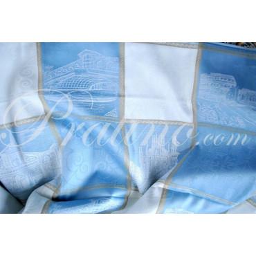 Couvre-lit Copritutto Double 300x270 Cathédrales italiens Toile de Coton - Chambre à coucher-Lit